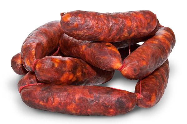 Chorizo extra, Productos Cárnicos Domínguez