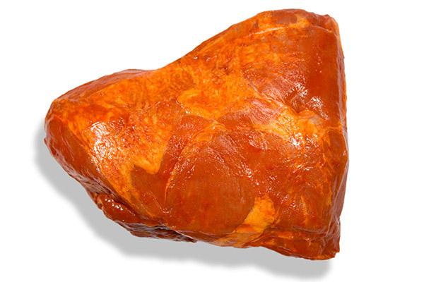 Croca de cerdo fresca y adobada